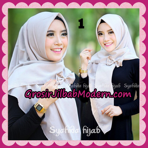Jilbab Segi 4 Monochrome Original By Syahida Hijab Brand No 1