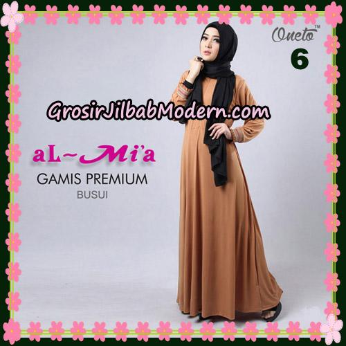 Gamis Premium Busui Cantik Original By Almia Brand No 6