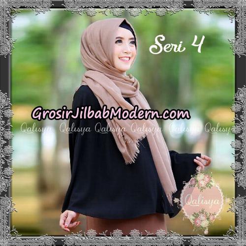 Jilbab Basic Khimar Exclusive Seri 4 Original by Qalisya - Contoh Pemakaian