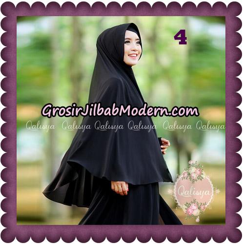 Jilbab Basic Khimar Pet Antem Exclusive Original by Qalisya No 4