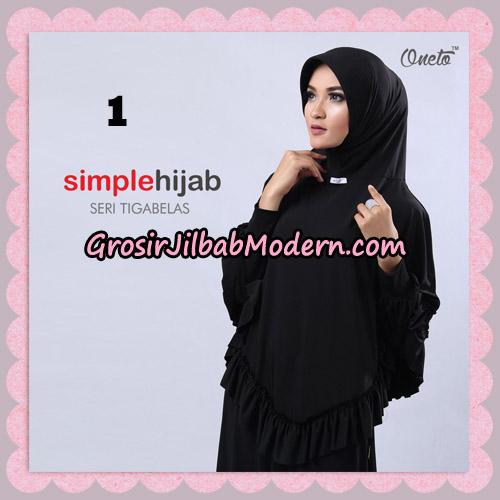 Jilbab Bergo Instant Simple Hijab Seri 13 By Firza Hijab Support Oneto No 1