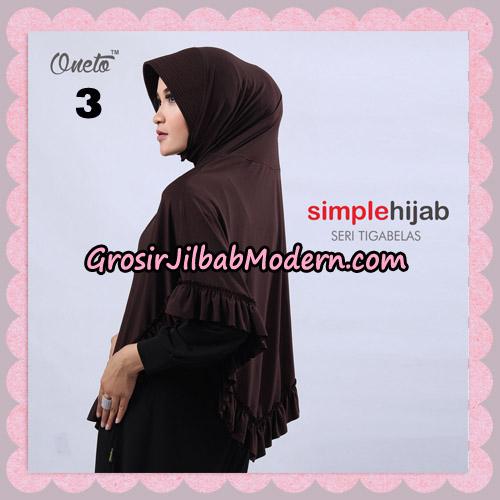 Jilbab Bergo Instant Simple Hijab Seri 13 By Firza Hijab Support Oneto No 3
