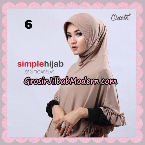 Jilbab Bergo Instant Simple Hijab Seri 13 By Firza Hijab Support Oneto No 6