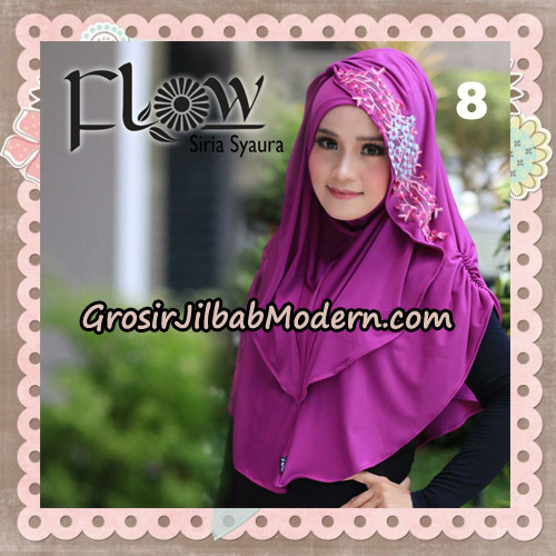 Jilbab Instant Syria Syaura Original By Flow Idea No 8