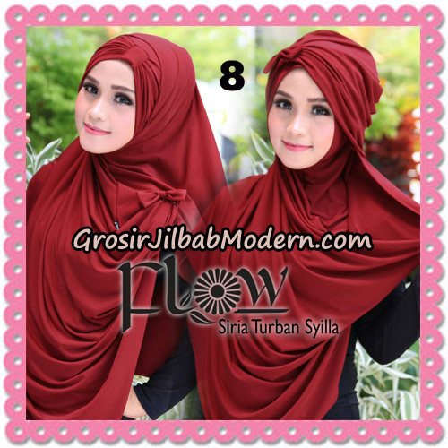 Jilbab Instant Syria Turban Syilla Original By Flow Idea No 8