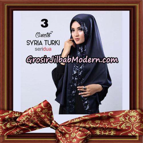 Jilbab Instant Syria Turki Seri 2 Exclusive Support Oneto Hijab No 3