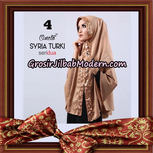 Jilbab Instant Syria Turki Seri 2 Exclusive Support Oneto Hijab No 4