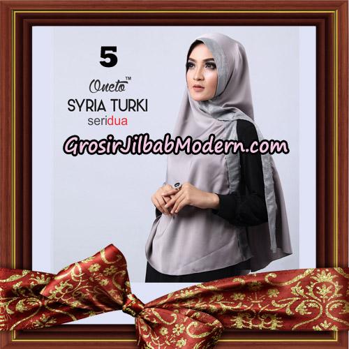 Jilbab Instant Syria Turki Seri 2 Exclusive Support Oneto Hijab No 5