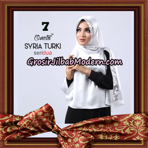 Jilbab Instant Syria Turki Seri 2 Exclusive Support Oneto Hijab No 7