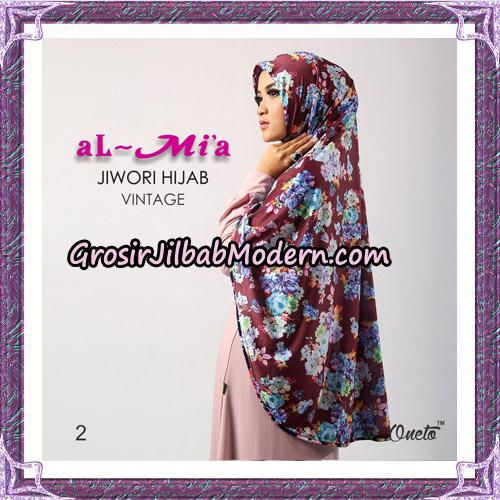 Jilbab Jiwori Hijab Vintage Original By Almia Brand No 2