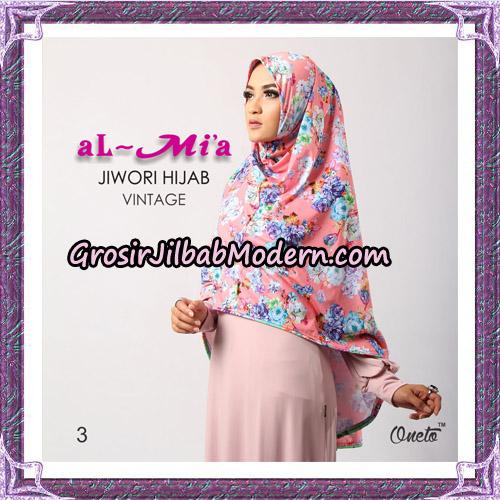 Jilbab Jiwori Hijab Vintage Original By Almia Brand No 3