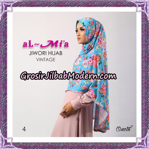 Jilbab Jiwori Hijab Vintage Original By Almia Brand No 4