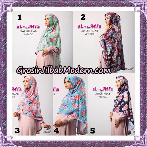 Jilbab Jiwori Hijab Vintage Original By Almia Brand