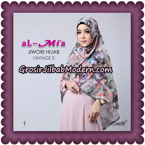 Jilbab Jiwori Hijab Vintage Seri 3 Original By Almia Brand No 1