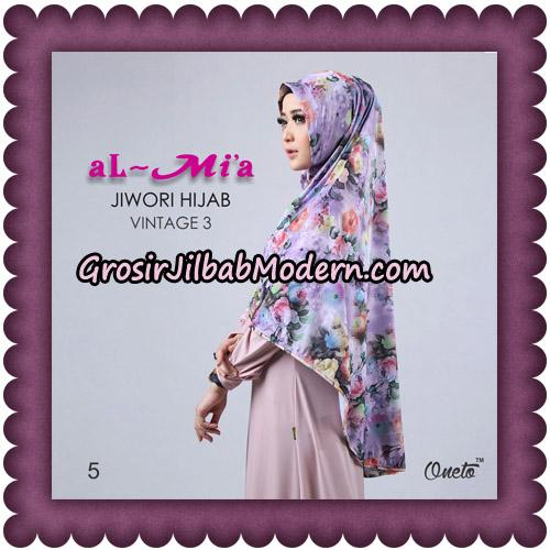 Jilbab Jiwori Hijab Vintage Seri 3 Original By Almia Brand No 5