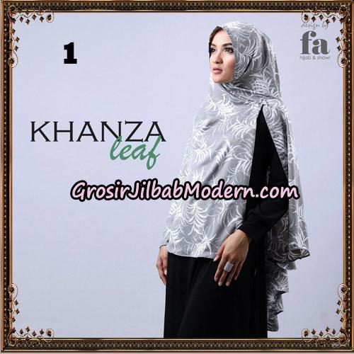 Jilbab Khimar Khanza Leaf By Fa Hijab Support Oneto Hijab No 1