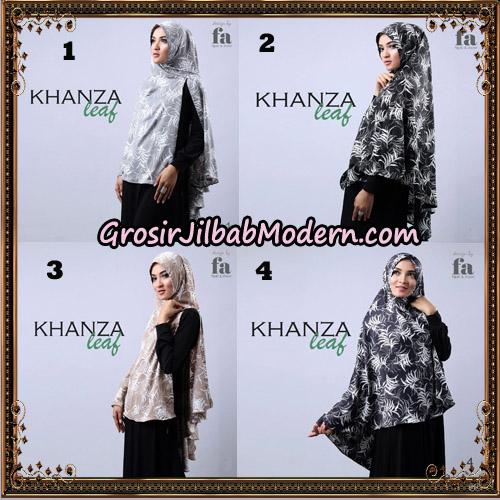 Jilbab Khimar Khanza Leaf By Fa Hijab Support Oneto Hijab