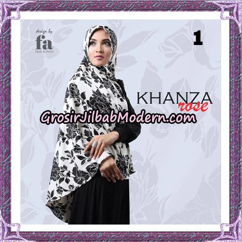 Jilbab Khimar Khanza Rose By Fa Hijab Support Oneto Hijab No 1