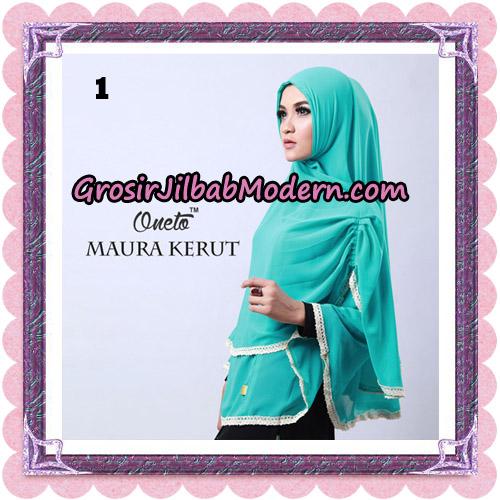 Jilbab Khimar Maura Kerut Oneto Support By Rizky Ananda No 1