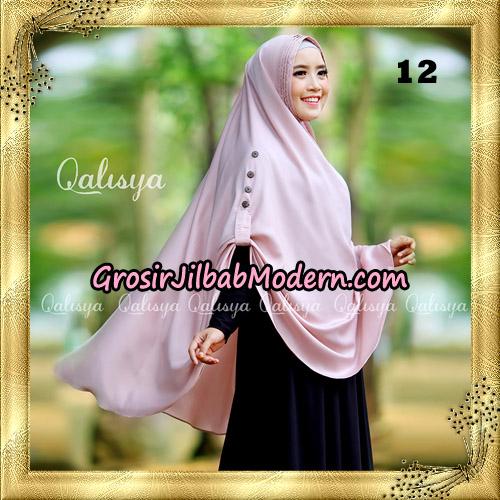 Jilbab Khimar Syari Ziya Seri 2 Original By Qalisya Hijab Brand No 12