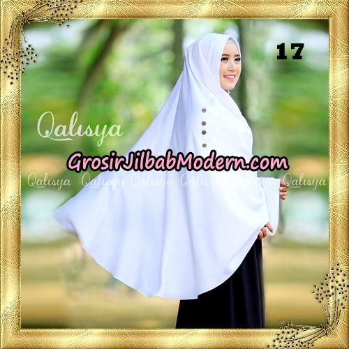 Jilbab Khimar Syari Ziya Seri 2 Original By Qalisya Hijab Brand No 17