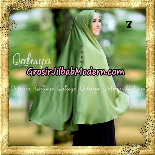 Jilbab Khimar Syari Ziya Seri 2 Original By Qalisya Hijab Brand No 7