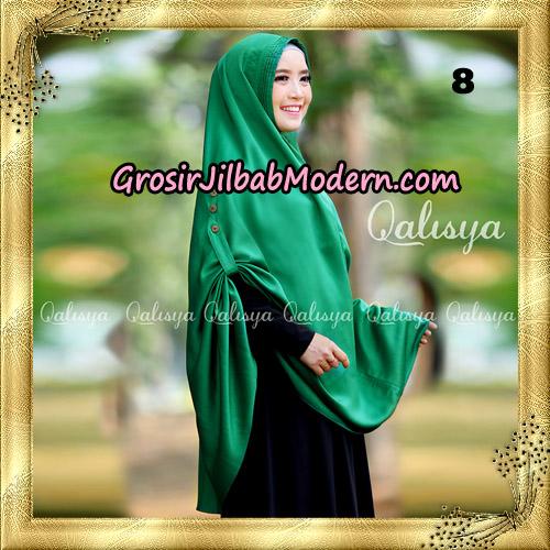 Jilbab Khimar Syari Ziya Seri 2 Original By Qalisya Hijab Brand No 8