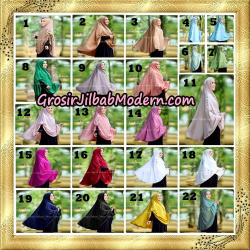 Jilbab Khimar Syari Ziya Seri 2 Original By Qalisya Hijab Brand
