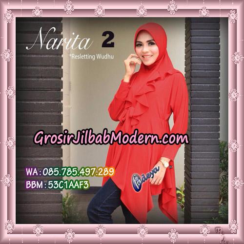Jilbab Lengan Tunik Narita Original By Fadeya Brand No 2