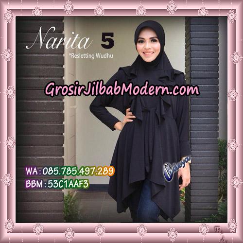 Jilbab Lengan Tunik Narita Original By Fadeya Brand No 5