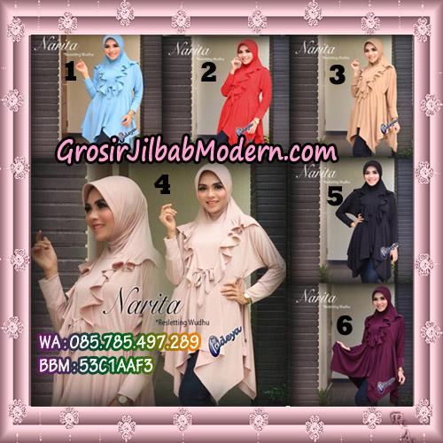 Jilbab Lengan Tunik Narita Original By Fadeya Brand