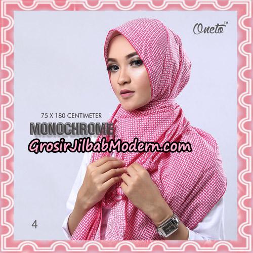 Jilbab Pashmina Anyam Original Firza Hijab Support Oneto Hijab No 4