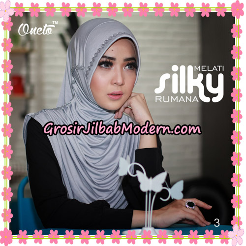 Jilbab Rumana Silky Melati Original By Oneto Hijab Brand No 3