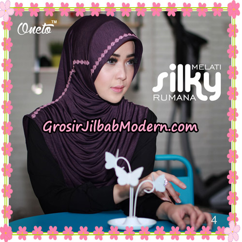 Jilbab Rumana Silky Melati Original By Oneto Hijab Brand No 4
