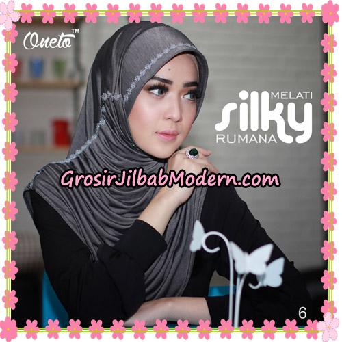 Jilbab Rumana Silky Melati Original By Oneto Hijab Brand No 6
