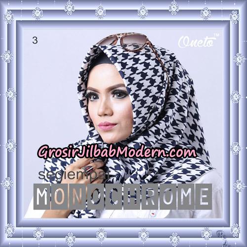 Jilbab Segi 4 Monochrome Original Firza Hijab Support Oneto Hijab No 3
