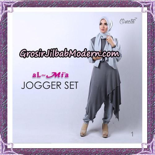 Setelan Jogger Set Trendy Original By Almia Brand No 1