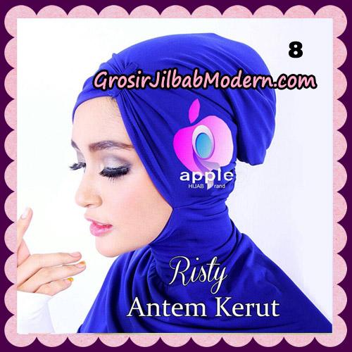 Inner Ninja Risty Antem Kerut Original By Apple Hijab Brand No 8