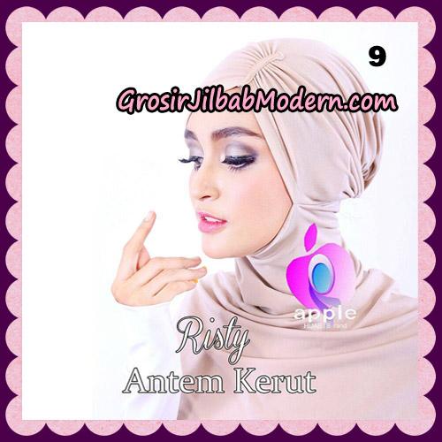 Inner Ninja Risty Antem Kerut Original By Apple Hijab Brand No 9