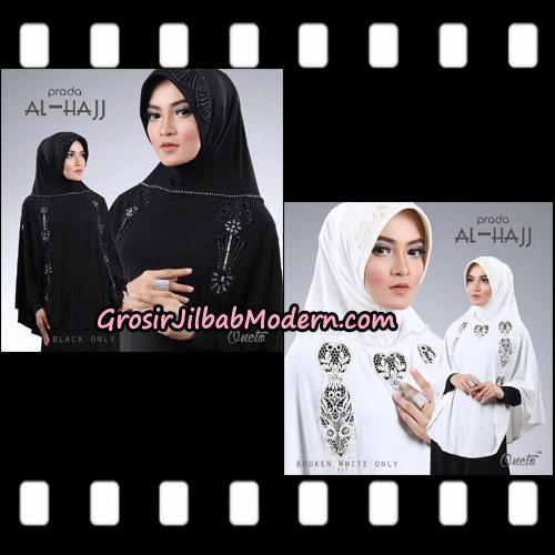Jilbab Bergo Instant Cantik Prada Al Hajj Support Oneto Hijab