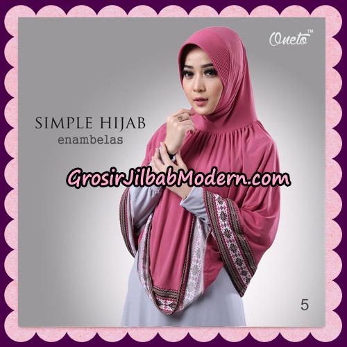 Jilbab Bergo Instant Simple Hijab Seri 16 By Firza Hijab Support Oneto No 5
