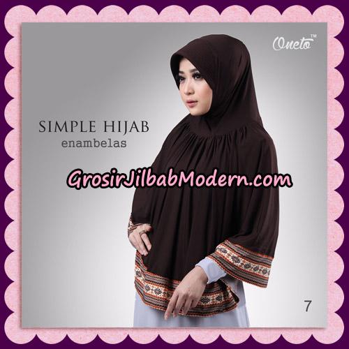 Jilbab Bergo Instant Simple Hijab Seri 16 By Firza Hijab Support Oneto No 7