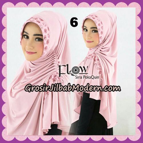 Jilbab Instant Cantik Syria Pet PolkaQuin Original By Flow Idea No 6