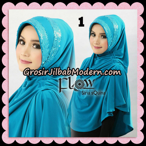 Jilbab Instant Syria Pet Syari sQuina Original By Flow Idea No 1