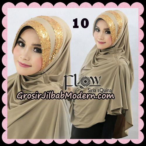Jilbab Instant Syria Pet Syari sQuina Original By Flow Idea No 10