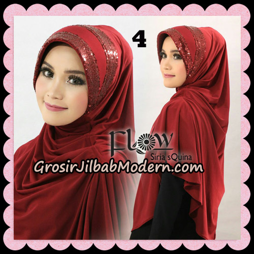 Jilbab Instant Syria Pet Syari sQuina Original By Flow Idea No 4