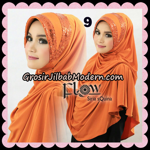 Jilbab Instant Syria Pet Syari sQuina Original By Flow Idea No 9