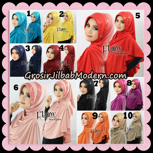 Jilbab Instant Syria Pet Syari sQuina Original By Flow Idea