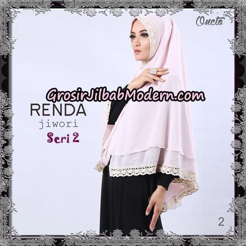 Jilbab Khimar Cerutti Jiwori Renda Seri 2 Original By Dhea Brand No 2