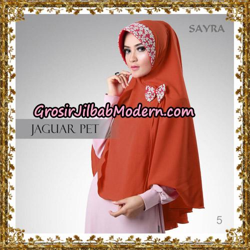 Jilbab Khimar Instant Jaguar Pet Original By Sayra Hijab Brand No 5